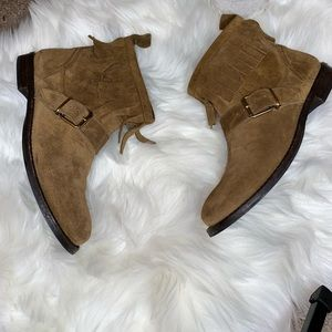 Burberry moccasins ankle boots✨